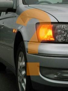 car indicator signals - Signal or not?