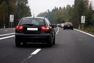 Signalling to Change Lanes