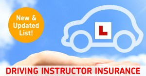 Driving Instructor Insurance Brokers